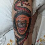 Carl Hallowell Traditiona Tattoo Artist